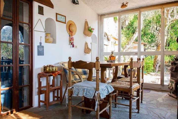 La veranda : per restare immersi nella splendida natura anche quando il tempo fa i capricci