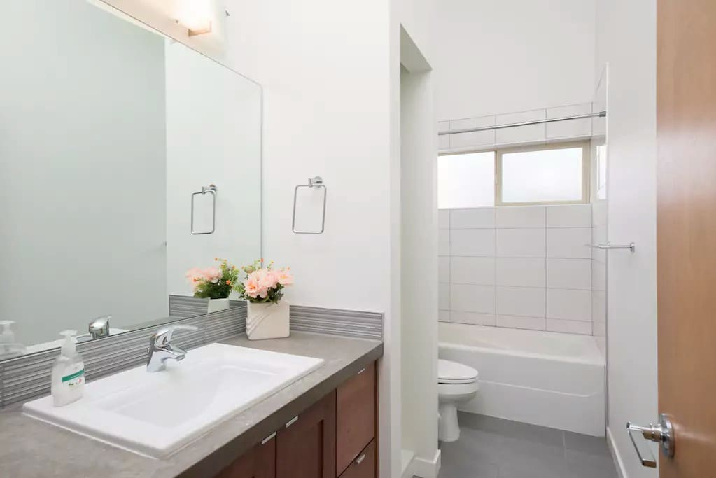 Private Bathroom with Tub