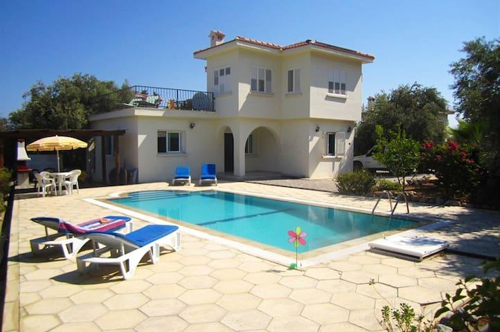 KB415-3 Bedroom villa with pool In North Cyprus