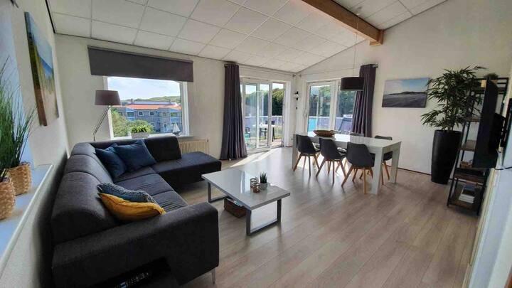Ruim appartement nabij duin en strand Julianadorp