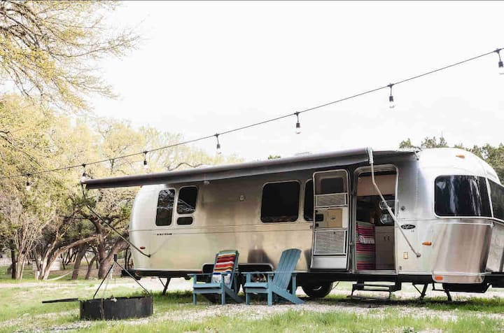 Airstream Blanco River Waterfront