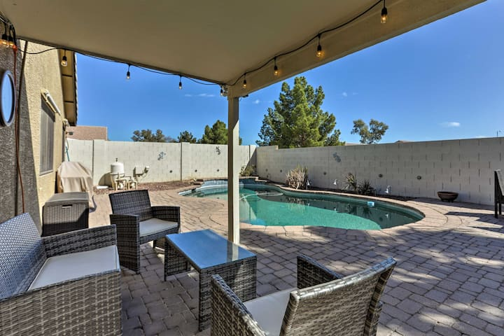 Charming Surprise House w/Backyard & Private Pool!
