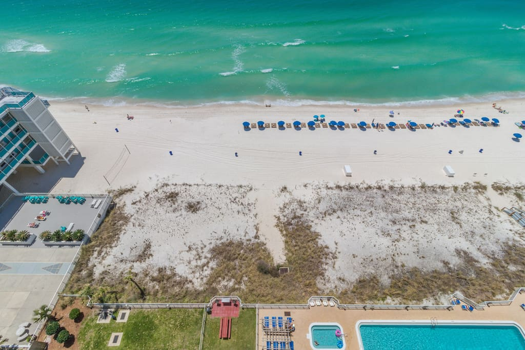 "Direct View Of The Gulf Of Mexico and the ""World's Most Beautiful Beaches!"""