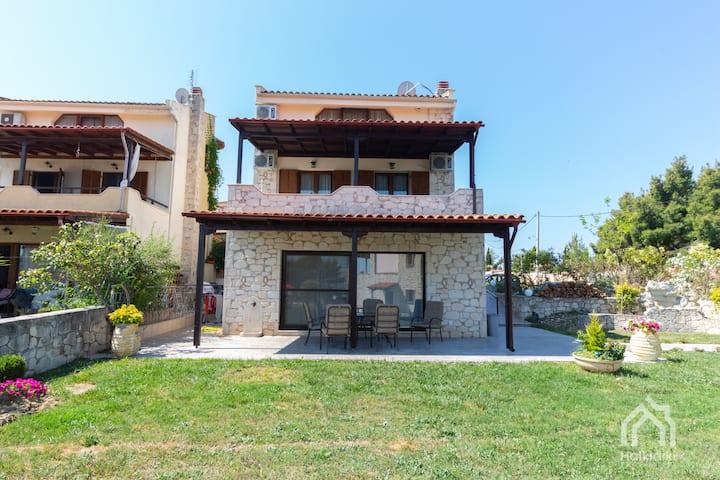 Villa Y sea view