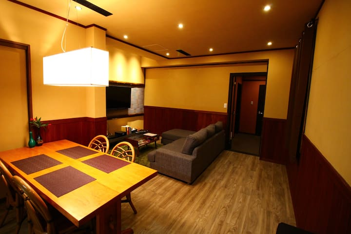 Cultured 2 bedroom apartment - Gaku Suite - Hakuba-mura - Apartment
