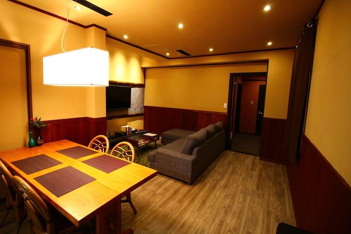 Cultured 2 bedroom apartment - Gaku Suite - Hakuba-mura - Appartement