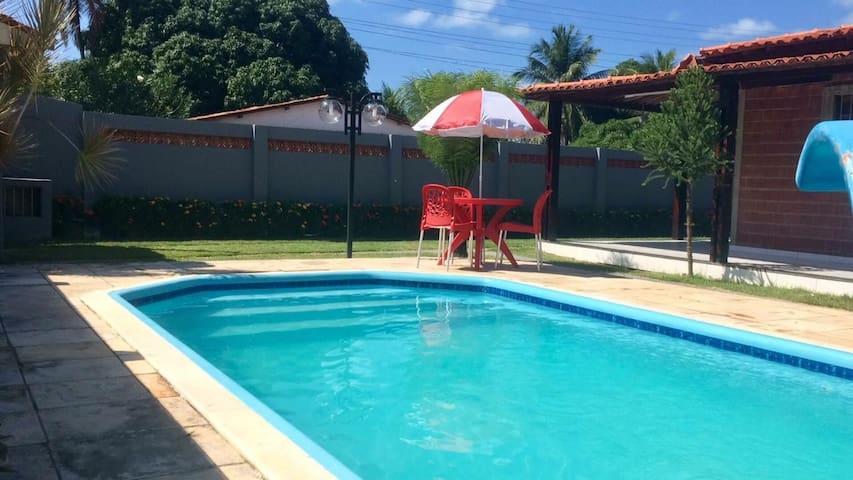 Ampla casa com piscina praia de Peroba Maragogi!