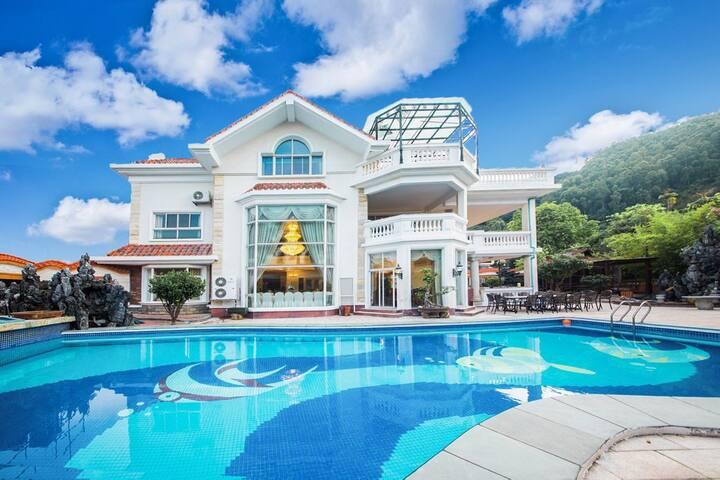 近广州大花园泳池独栋别墅