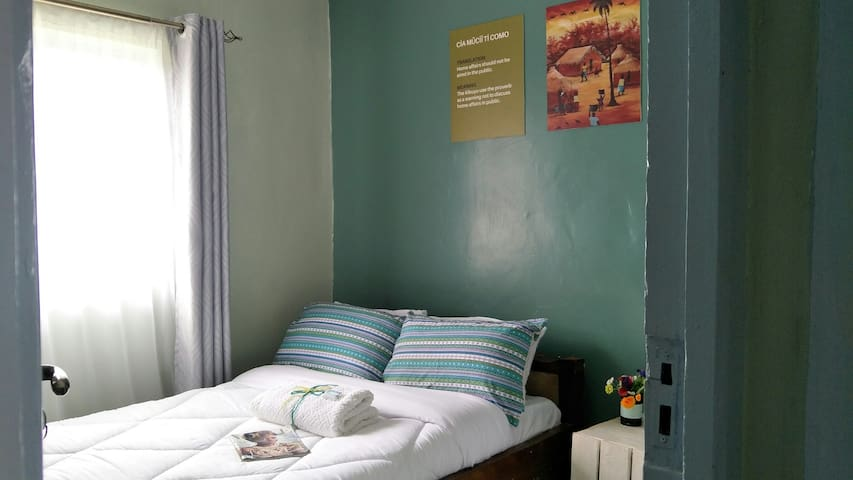 Bedroom ONE - Double bed