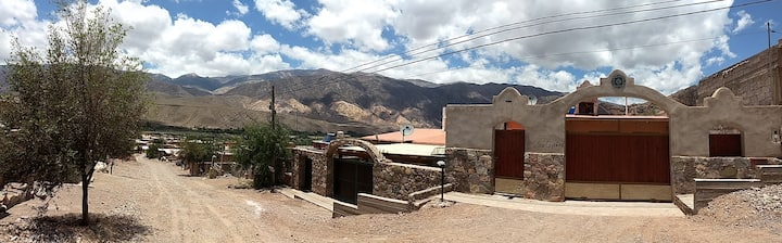 Habitaciones privadas tilcara en la montaña