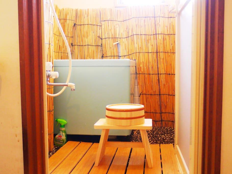 風呂 Japanese Bathroom 日本式浴室