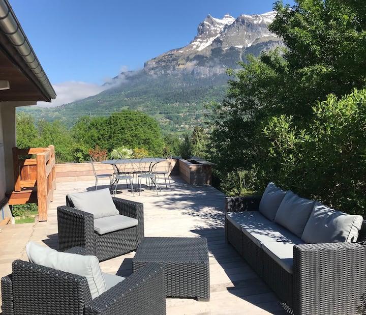 Petite maison au coeur du Pays du Mont Blanc