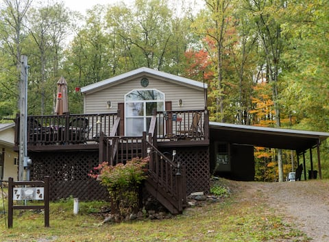 South Branch Home with great lake view. Cozy!!