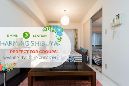 Cozy Apt in Shibuya 5mins to sta. - Shibuya-ku - 公寓