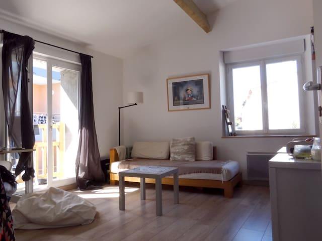 Appartement au calme, en centre bourg de Vallet
