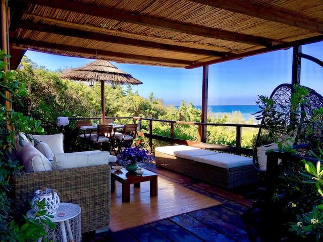 Villa bungalow fronte mare su dune Sabaudia Circeo - Sabaudia - Domek parterowy