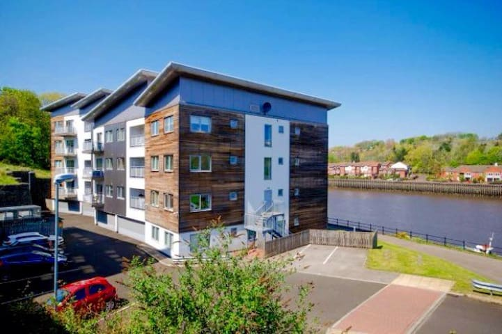 Luxury Riverside Apartment - Gateshead  - Apartemen