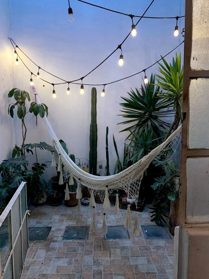 Renta hermosa habitación privada en Condesa, CDMX