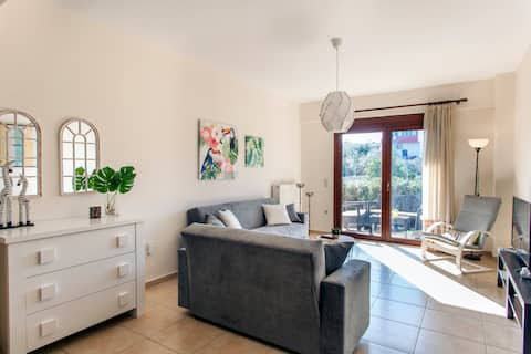 Luxury appartment Maria: 10' walking from beach!