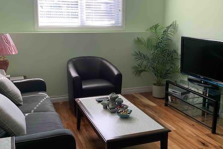Pleasant and quiet residential suite