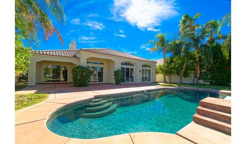 CountryClub Oasis | Heated Pool/Spa NEAR COACHELLA - Rancho Mirage - House