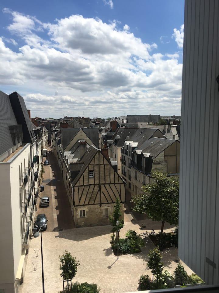 Appartement de 90m2 entre Loire et vieux Tours