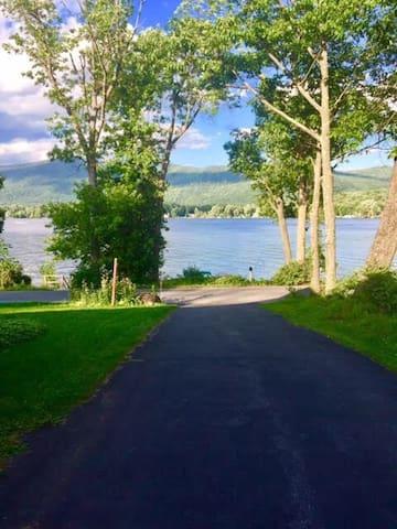 Waterfront Lake Home - Summer Getaway + Ski Chalet