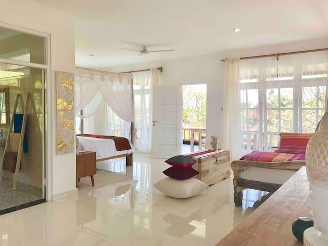 green biu' Heart Of Ubud, Entire Studio + Balcony