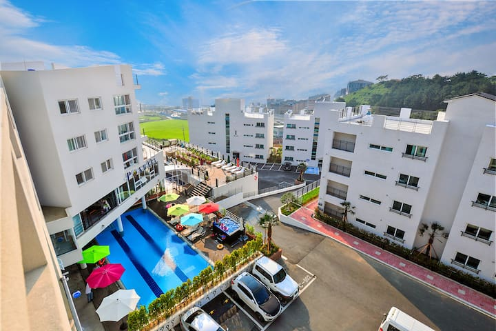 AQUARIUS RESORT - Sadeung-myeon, Geoje-si - Condominio