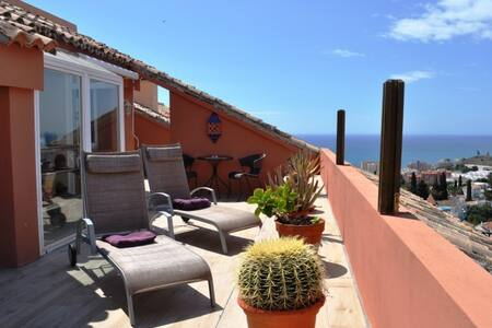 Luxurious penthouse in Fuengirola Hills Obj 29 - Fuengirola - Loft