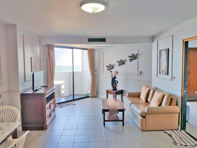 Paradise Condo: Vintage 1 bedroom(72sq.m./seaview)