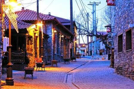 Super lux winter house. - Άγιος Αθανάσιος - Rumah