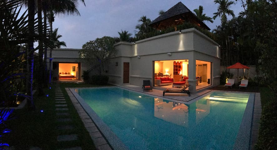 Villa Serene Lux 3 Bed Large Pool Nr Bangtao Beach