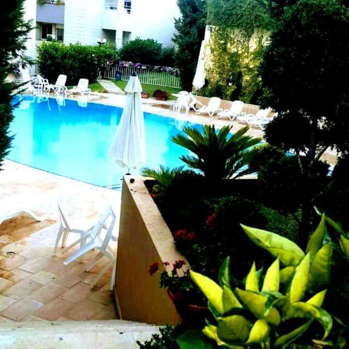 """Like a Local"" in Baabda by the pool"