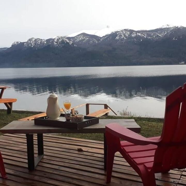Arrayan duplex on the Traful Lake