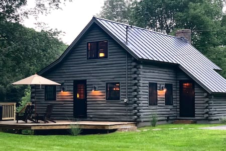 [KAB-IN] A Refined Log Cabin in Woodstock, Vermont