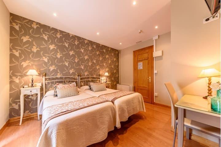 Habitación Doble con camas juntas o separadas