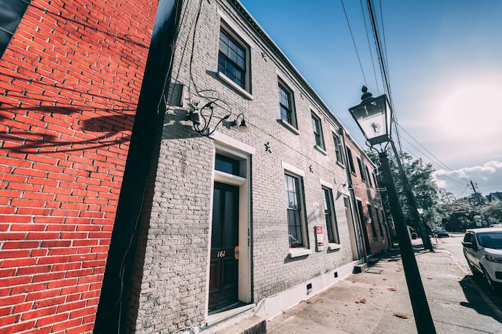 Exposed Brick Loft in Charming Downtown Mobile