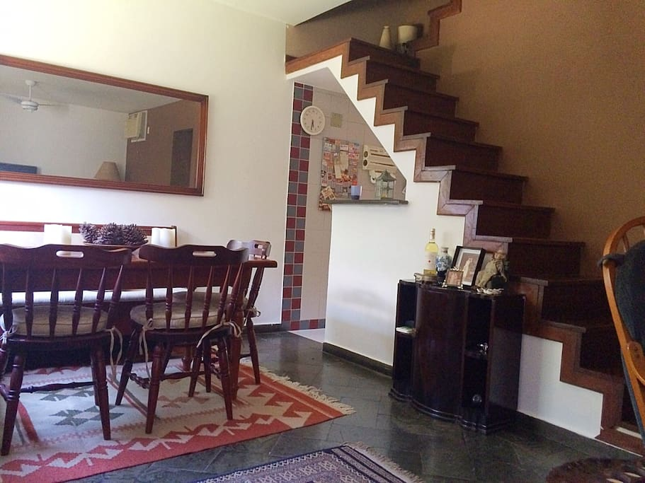 Dining room + stairs to second floor (1st floor)