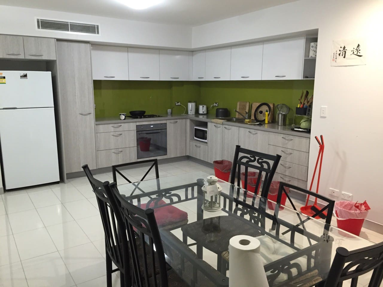 rest room with fully furnished