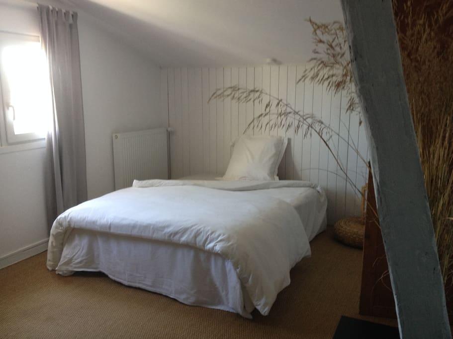 Grande chambre en maison ind avec piscine houses for for Piscine cornebarrieu