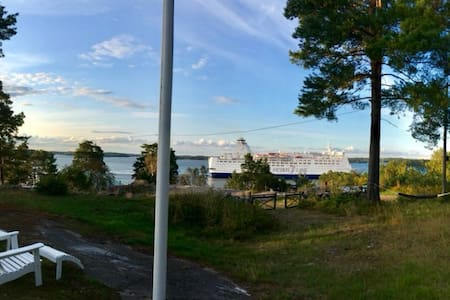 Oceanview Home in Värmdö, Stockholm Archipelago