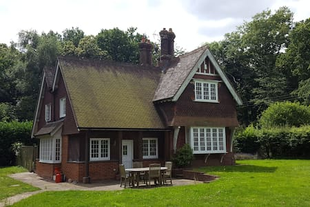Beautiful and idyllically quiet country house - Bramley
