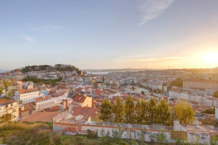 Luxury Graça House Amazing View of Lisbon