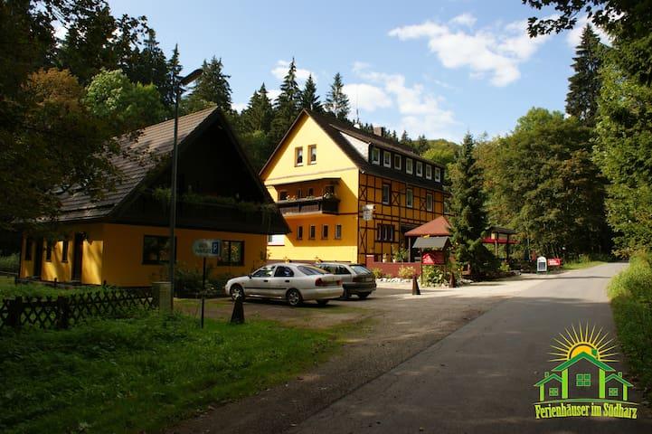 Gruppenhaus bis 36 Personen im Südharz