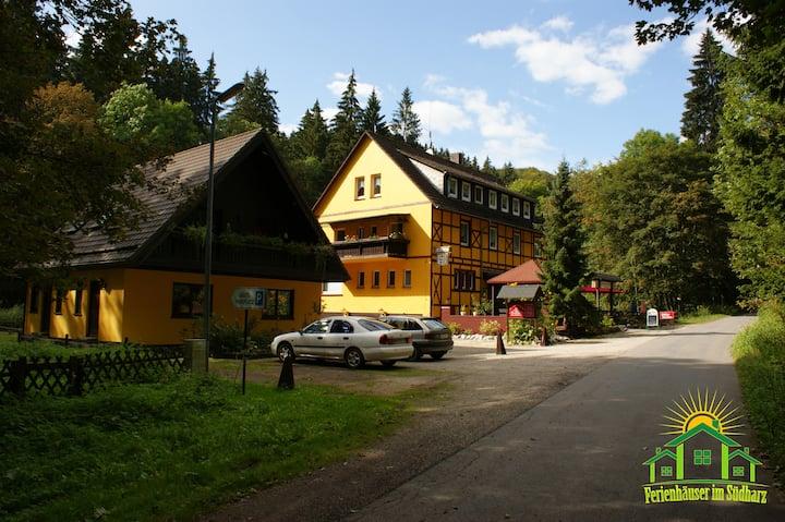 Gruppenhaus bis 40 Personen im Südharz