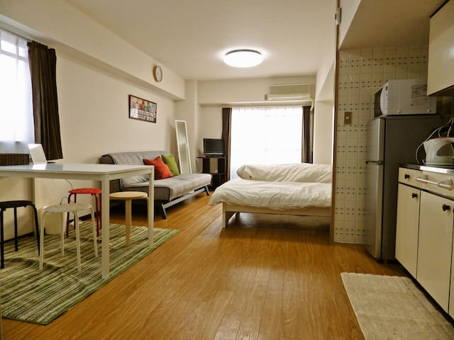 5 mins to hakata station☆ w/ Wifi - Fukuoka