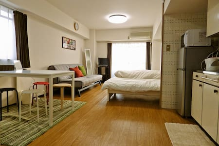 5 mins to hakata station☆ w/ Wifi 603 - Fukuoka - Apartmen