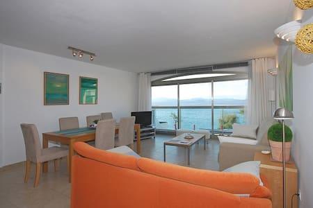 Bonito y tranquilo Apartamento en 1. línea de mar - Colonia de Sant Pere