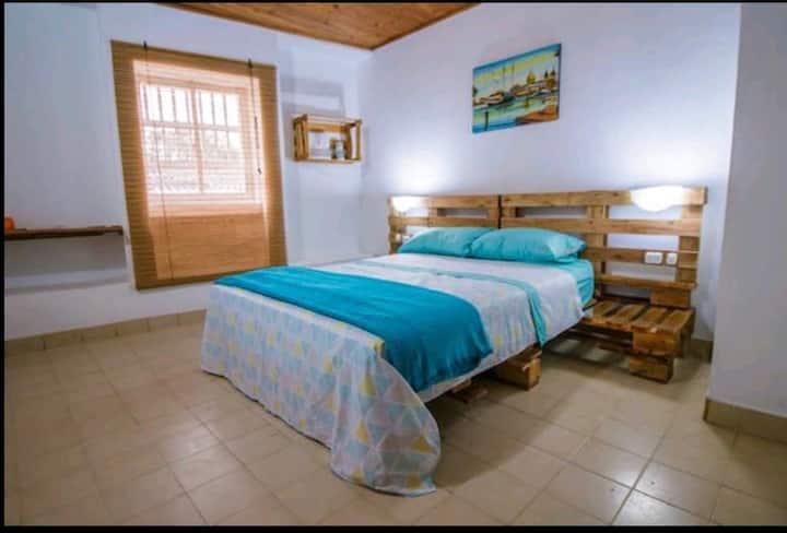 Auténtica y cómoda habitación en Getsemani